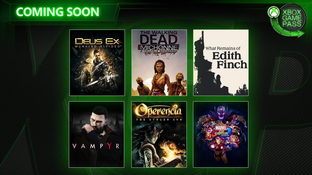 Xbox Game Pass in March 2019