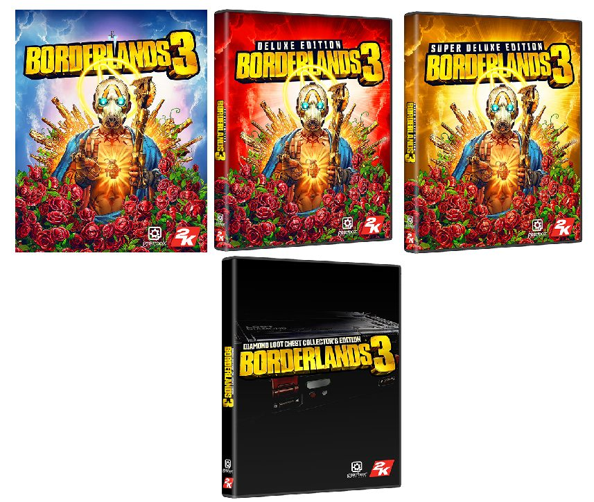 Borderlands 3 Collector's Edition Details