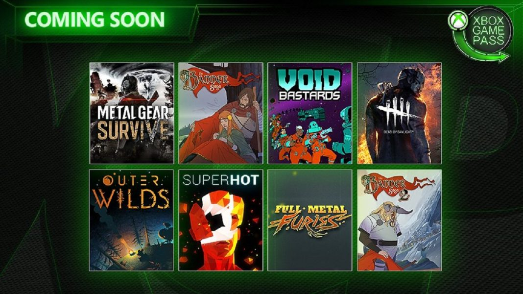 Xbox Game Pass in May and June 2019