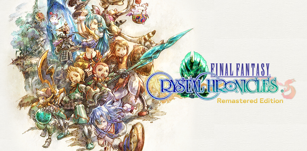 The Final Fantasy Crystal Chronicles Remastered logo.