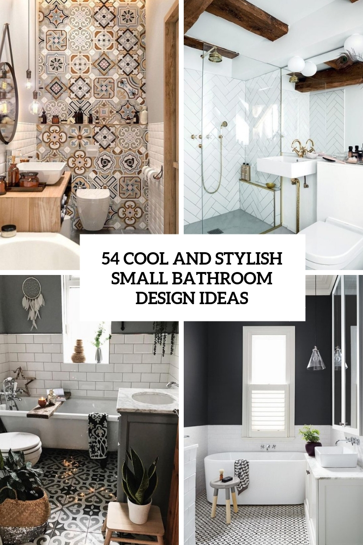 54 Cool And Stylish Small Bathroom Design Ideas | TickAbout