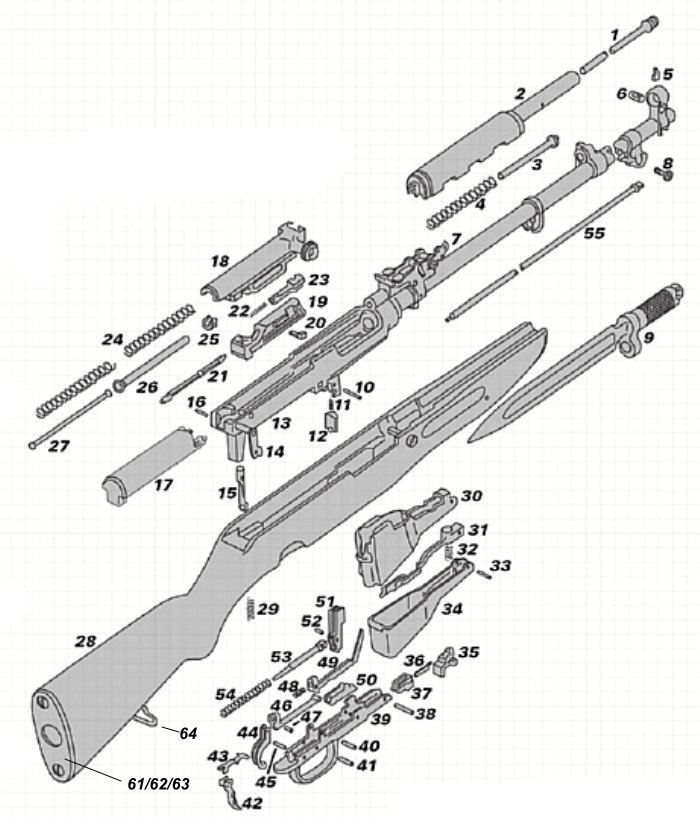 Military Rifle Parts By Tickbitesupply