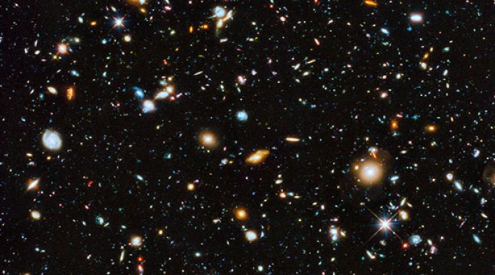 The handsome reality about the universe