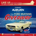 Mustang Giveaway