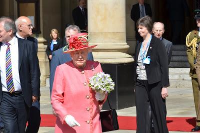 The Queen in Birmingham