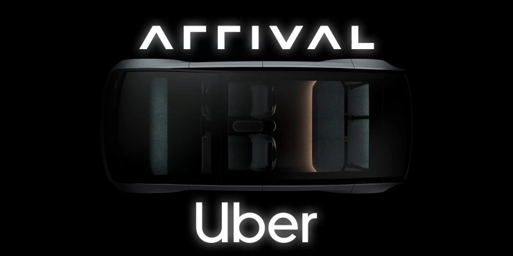 Arrival car by Uber