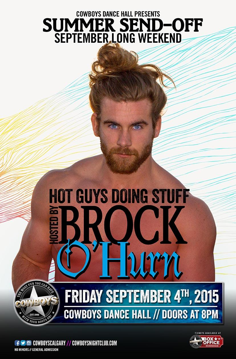 Summer Sendoff Feat Brock O'Hurn Live At Cowboys Dance