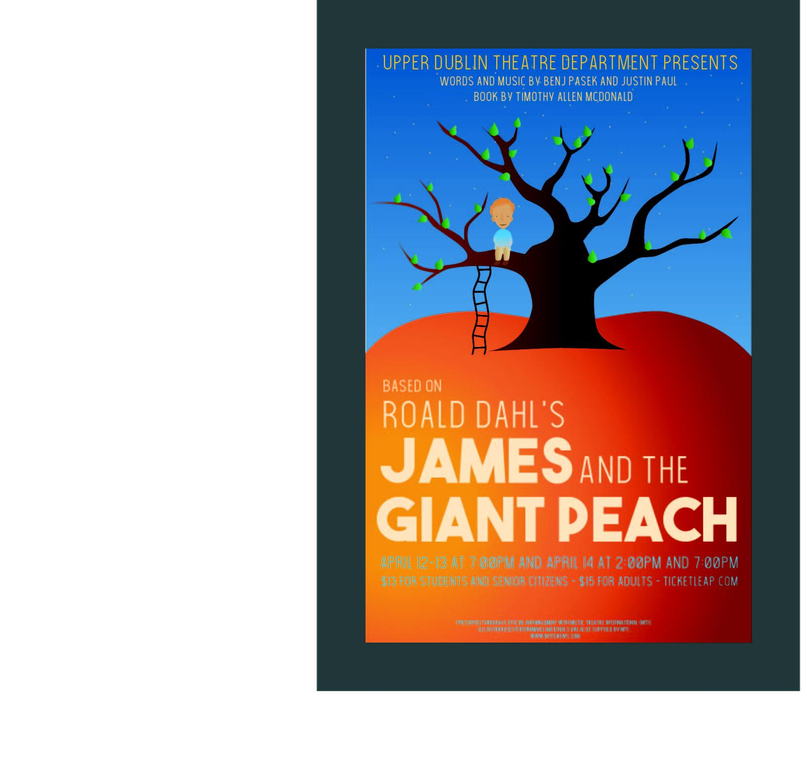 James And The Giant Peach Tickets In Ft Washington Pa