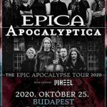 Epica, Apocalyptica, Wheel koncertek