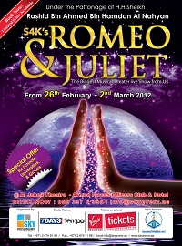 Romeo & Juliet Musical Theatre Show in Abu Dhabi