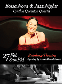 Cynthia Queenton Quartet in Amman