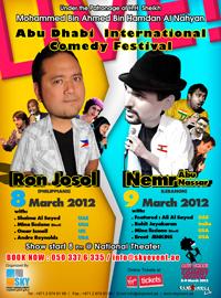 Abu Dhabi International Comedy Festival in Abu Dhabi