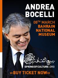 ANDREA BOCELLI in Manama