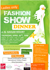 Fashion Show Dinner in Doha