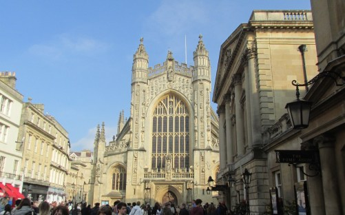 The church at Bath abbey