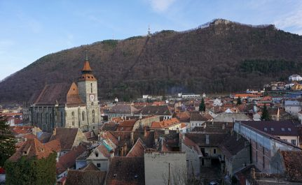 Black Church and the old city of Brasov