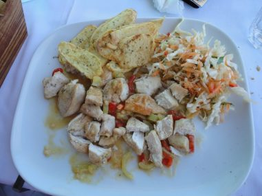 Dyonisos - Chicken with White Wine Sauce