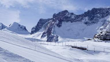 Mountain train to Gornergrat Zermatt