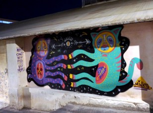 MInks Street Art Tel Aviv