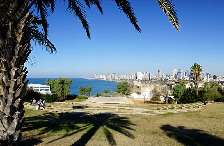 Panoramic View over Tel Aviv