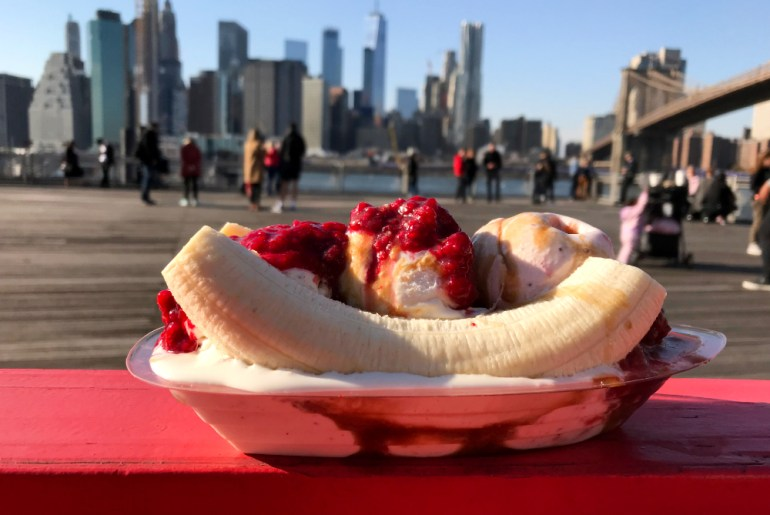 Banana Split with a View