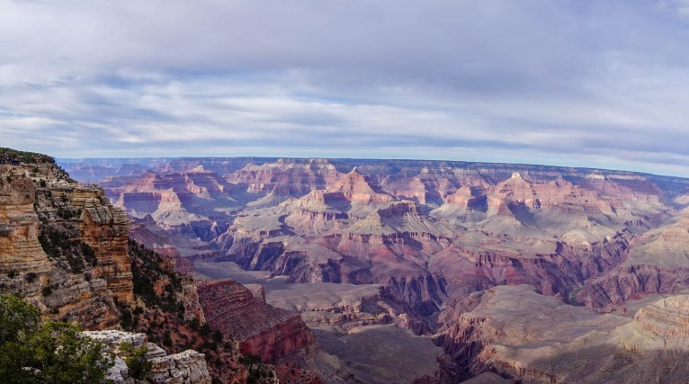 Mather Point landscape view