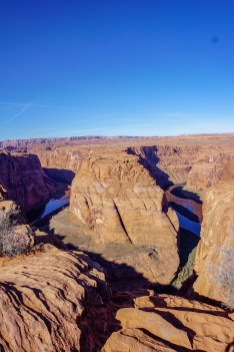 Colorado river in the Glen Canyon
