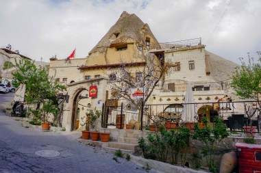accommodation in Cappadocia, Turkey