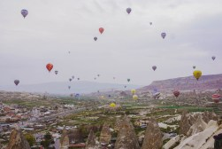 Cappadocia-Hot air balloon scenery