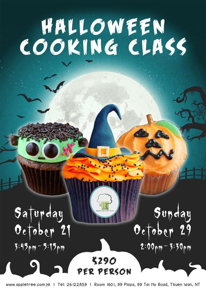 Halloween Cooking Class | Tickikids Hong Kong