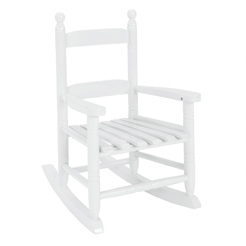 Kids Rocking Chairs Kids Rocking Chair Classic White