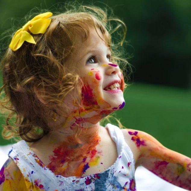 paint child