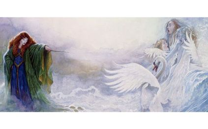 Children_lir_witch_swans