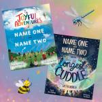 Joyful Adventures and THe Longest Cuddle personalised books