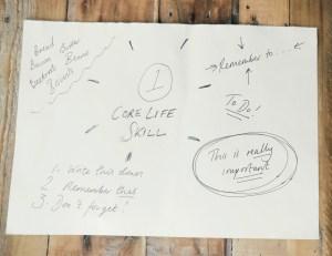 Core life skills handwritten description