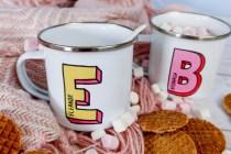 Flying Fig personalised mugs