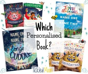 All of Tickled Moon's personalised books