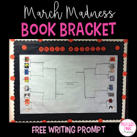 March Madness Book Bracket with Opinion Writing