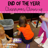 End of the Year Classroom Clean-up