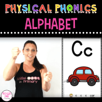 Physical Phonics Alphabet – Multi-Sensory Learning