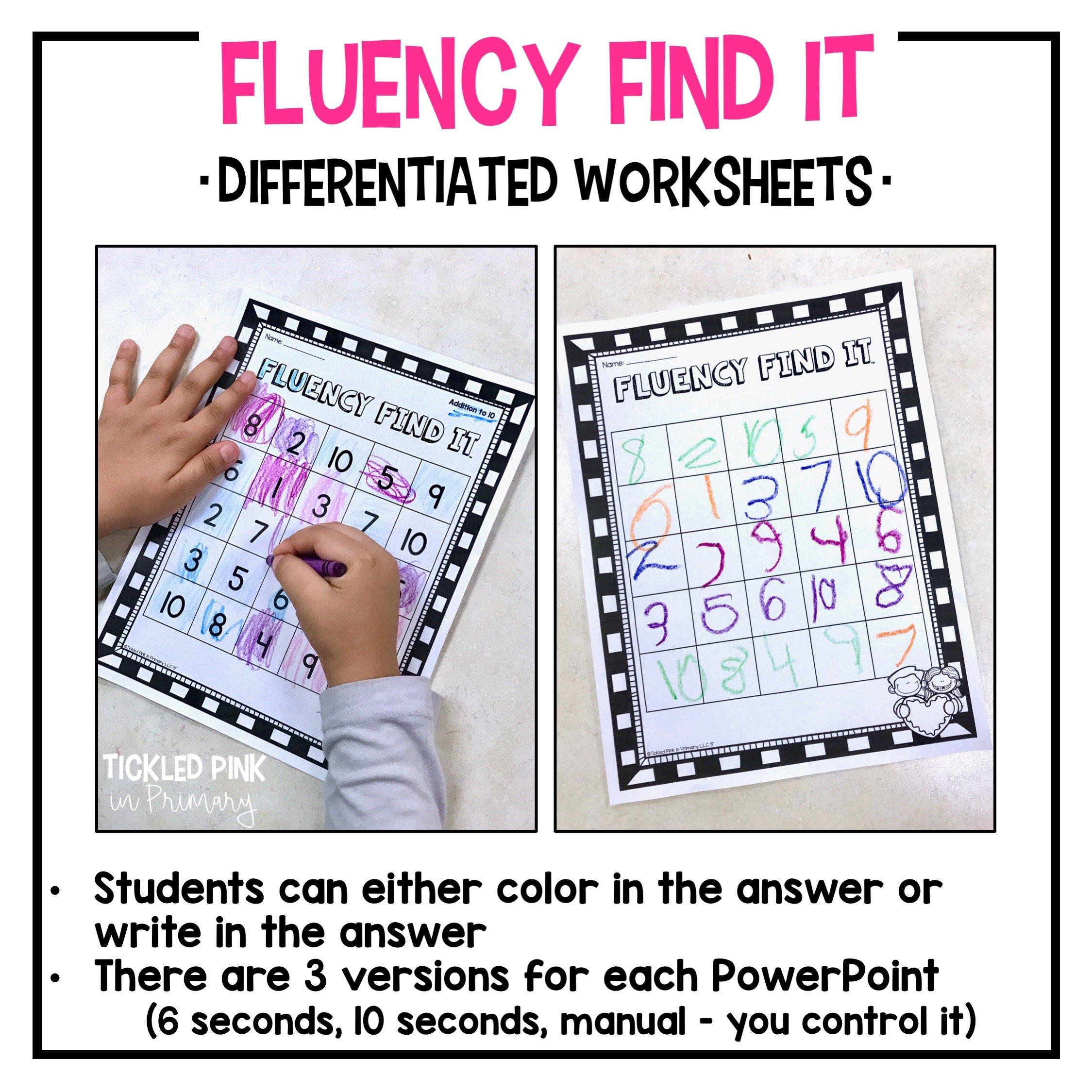 St Patrick S Day Fluency Find It 2nd Grade Tickled