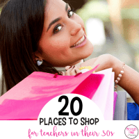 20 Places to Shop for Teachers in their 30s