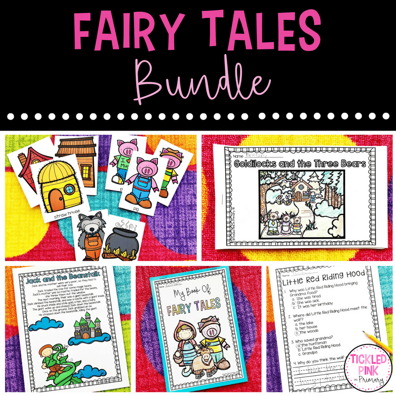 Fairy Tales Activities for Kindergarten