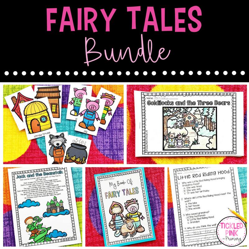 Fairy Tales Activities for Kindergarten