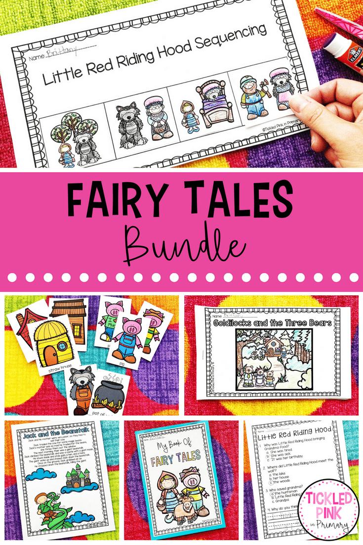 Fairy Tales Activities For Preschool And Kindergarten