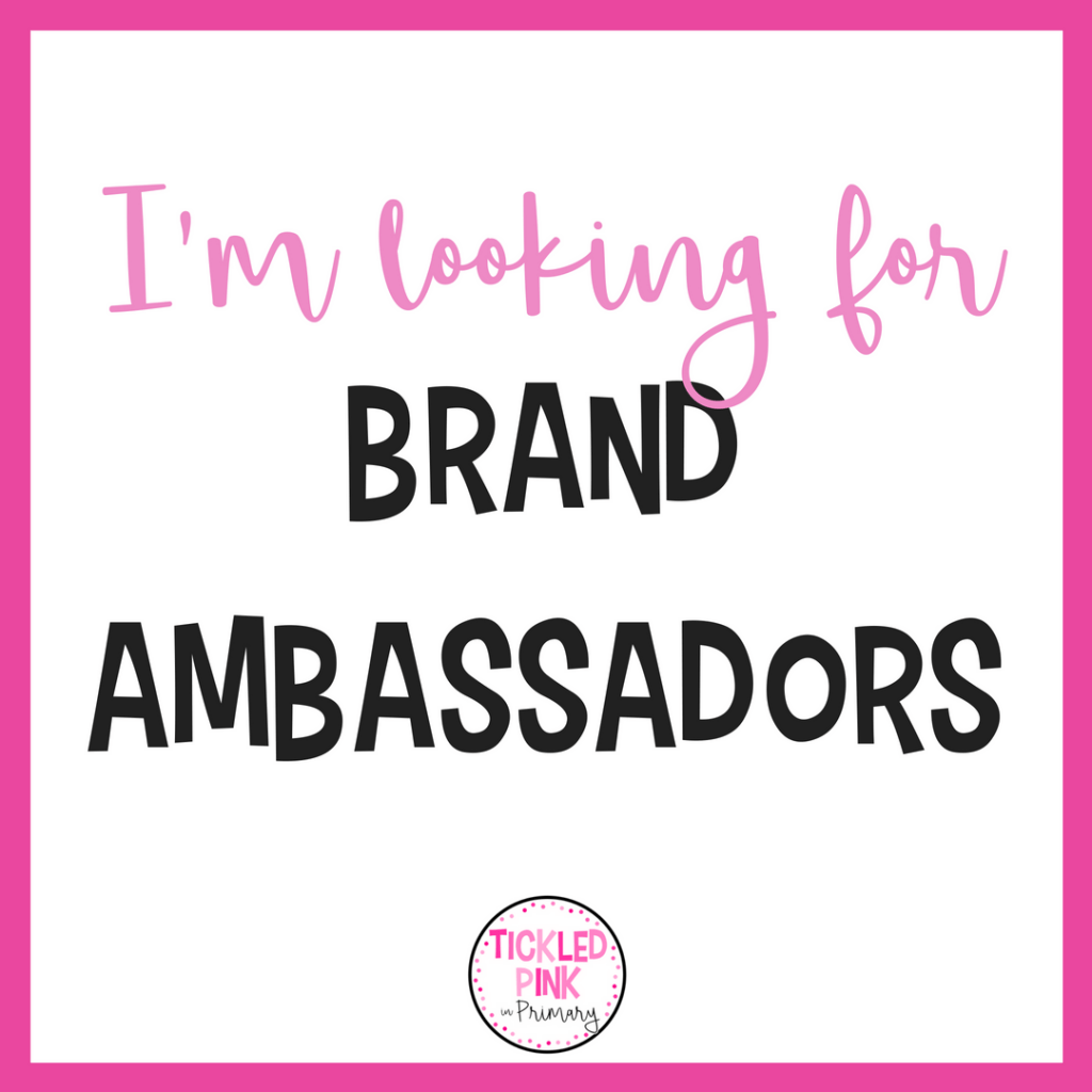 Brand Ambassador Search Tickled Pink In Primary