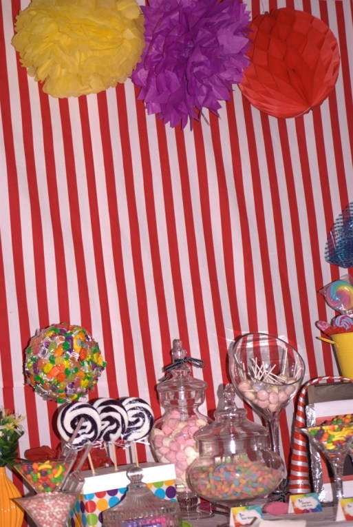 Willy Wonka Party Candy Table 3