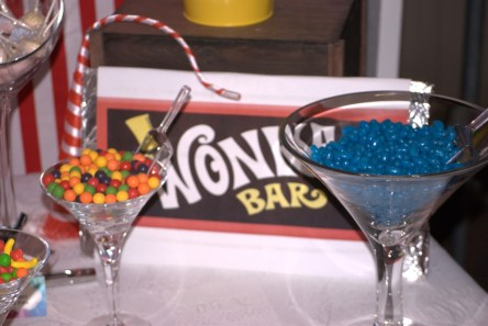 Willy Wonka Party Candy Table 7