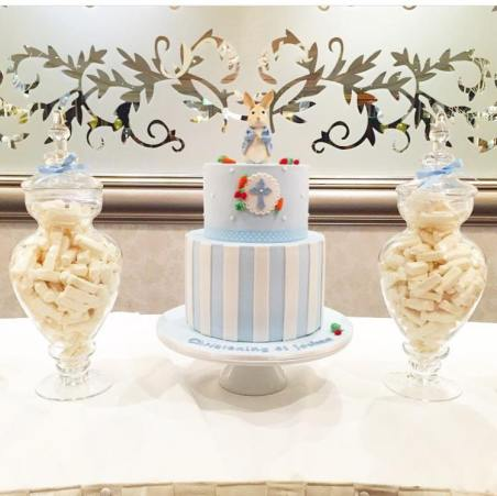 Peter Rabbit themed party Christening