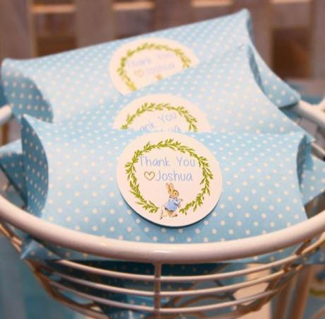 Peter Rabbit themed party Christening4